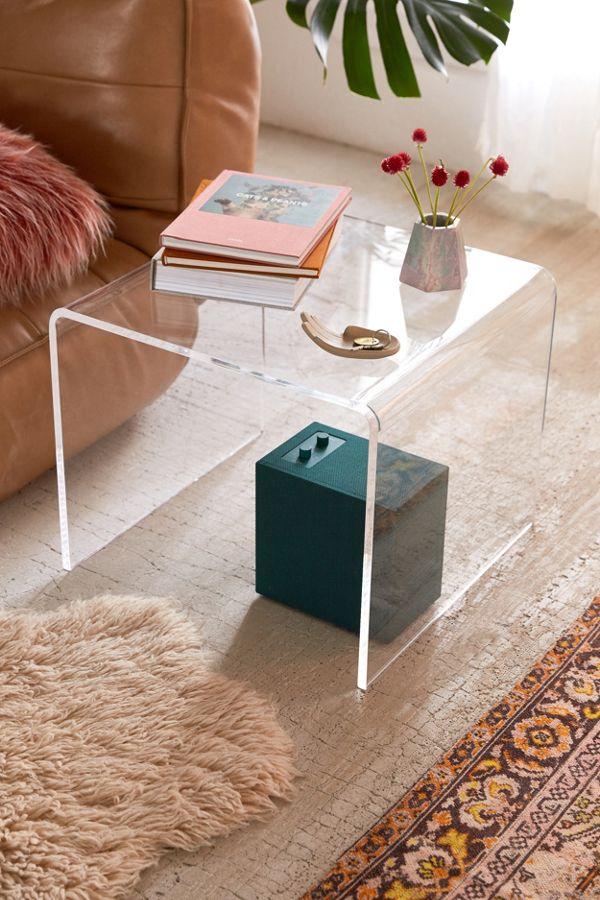 Slide View 1 Miotto Acrylic Curve Side Table