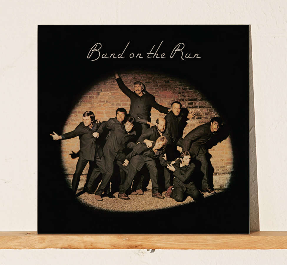 Slide View: 1: Paul McCartney and Wings - Band On The Run LP