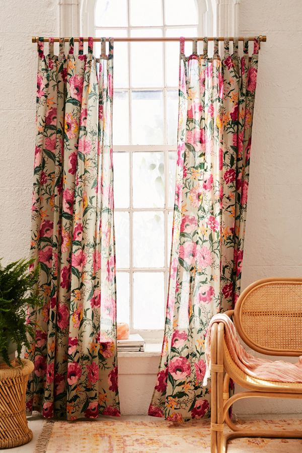 Slide View: 1: Poppy Window Curtain
