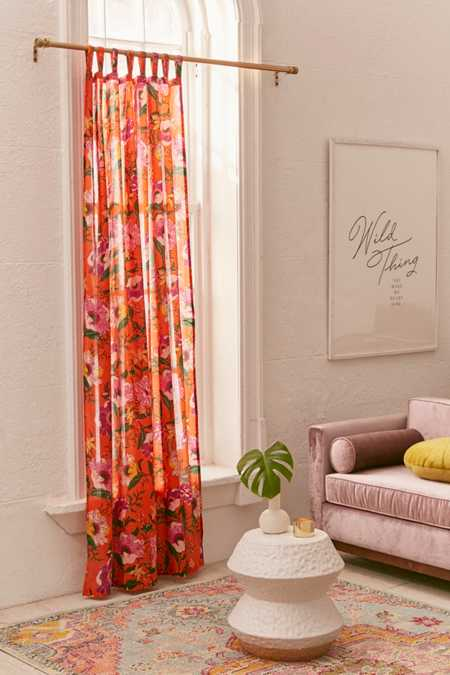 Poppy Window Curtain