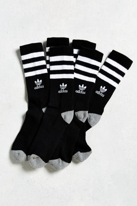 adidas Originals Roller Crew Sock 3-Pack 961b3238592