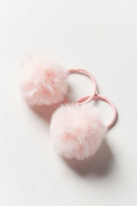 Pompom Ponytail Holder