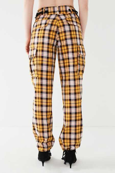Slide View: 2: I.AM.GIA Keidis Plaid Cargo Pant
