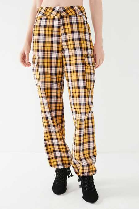 Slide View: 5: I.AM.GIA Keidis Plaid Cargo Pant
