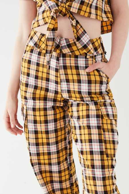 Slide View: 6: I.AM.GIA Keidis Plaid Cargo Pant