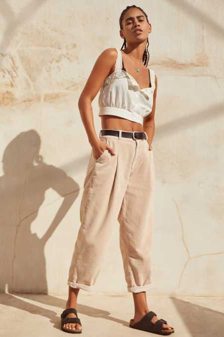 BDG Mid-Rise Corduroy Cocoon Pant