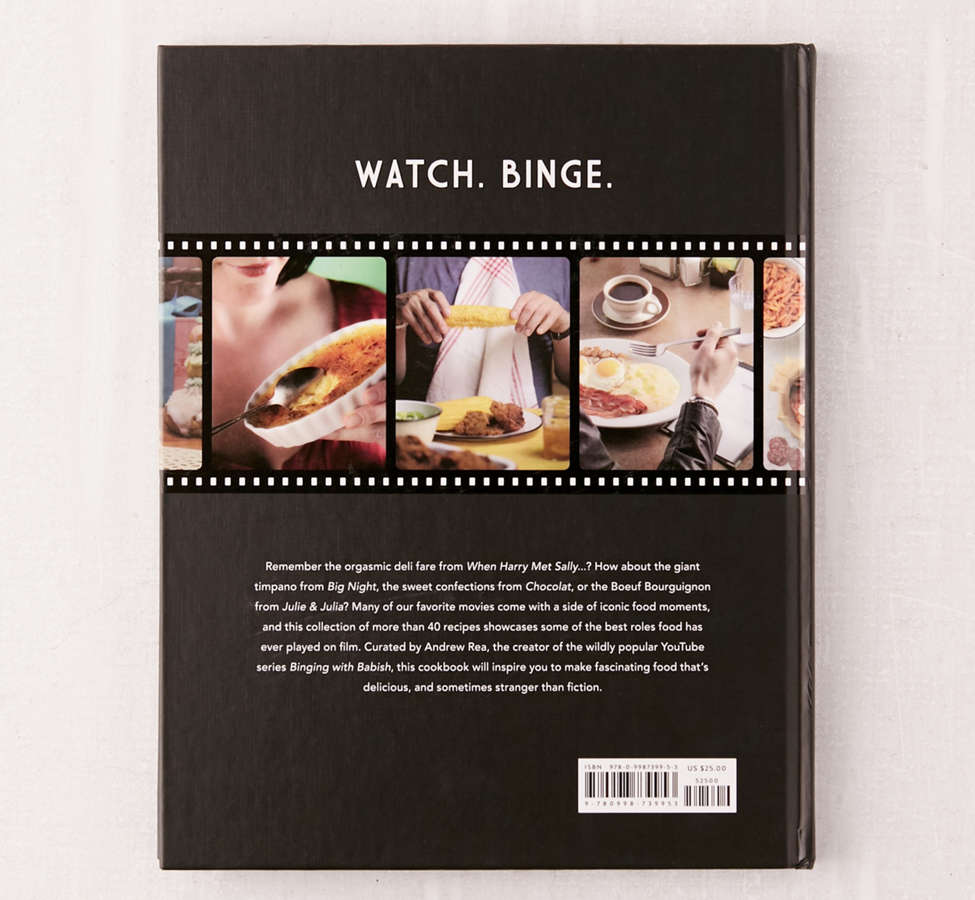 Slide View: 2: Eat What You Watch: A Cookbook for Movie Lovers By Andrew Rea