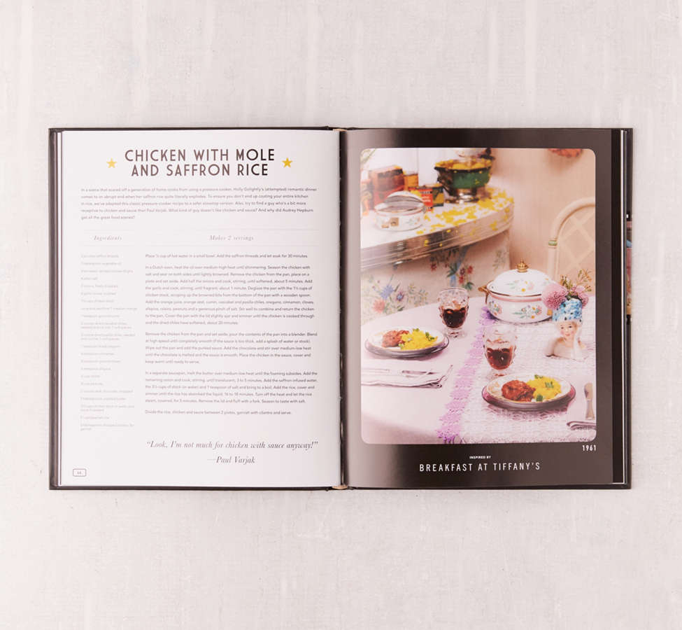 Slide View: 4: Eat What You Watch: A Cookbook for Movie Lovers By Andrew Rea