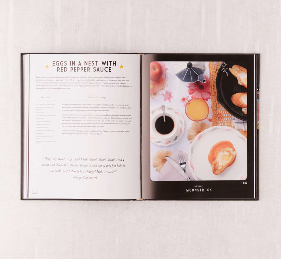 Slide View: 6: Eat What You Watch: A Cookbook for Movie Lovers By Andrew Rea