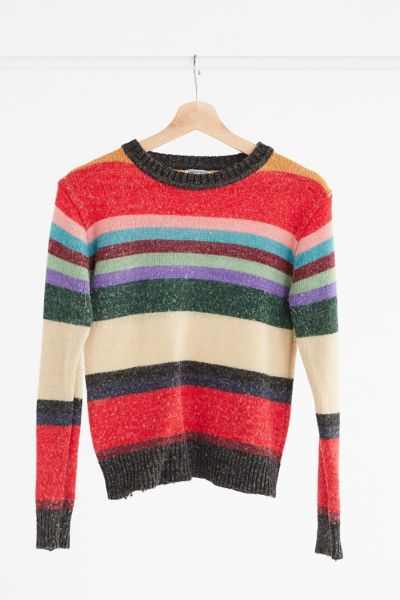 Vintage '70s Stripe Sweater - Assorted One Size at Urban Outfitters