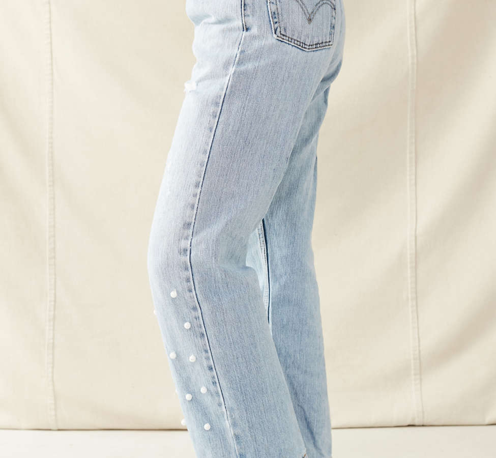 Slide View: 5: Urban Renewal Recycled Pearl Levi's Jean