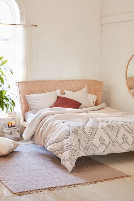 Evie embroidered comforter