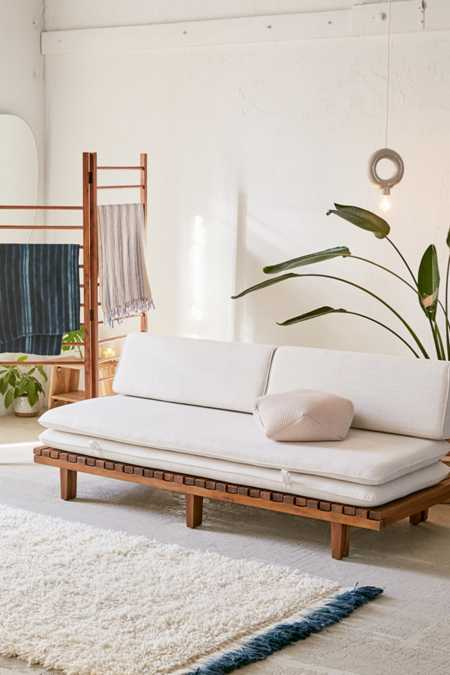 Osten Convertible Daybed Sofa. Living Room Furniture   D cor   Urban Outfitters