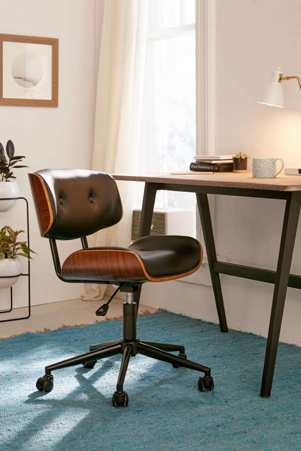 Slide View: 2: Lombardi Adjustable Desk Chair
