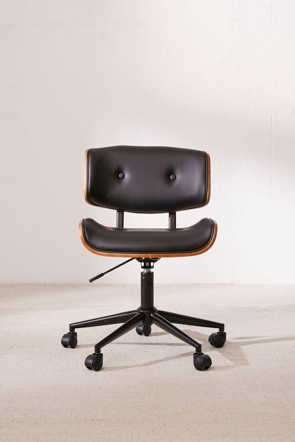 Slide View 3 Lombardi Adjule Desk Chair