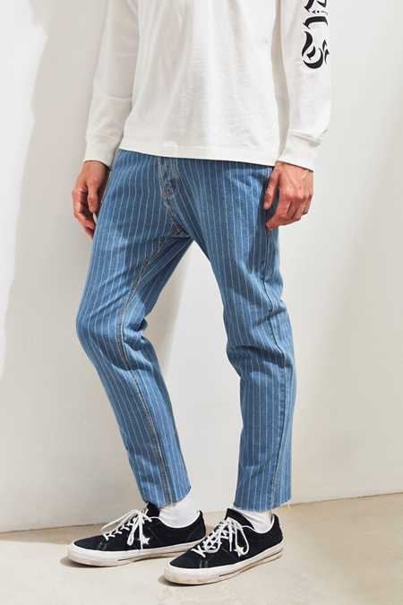 Barney Cools Pinstripe Relaxed Jean