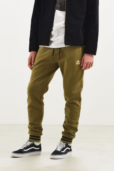 Karl Kani Trademark Jogger Pant - Olive S at Urban Outfitters