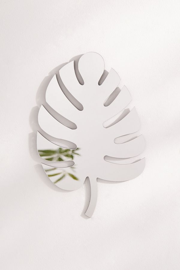 #Monstera Leaf Mirror