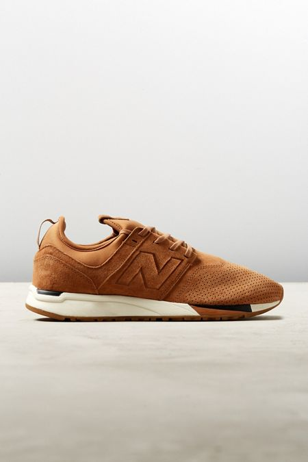 SCARPE SNEAKERS CASUAL UNISEX NEW BALANCE ORIGINALE ML574UKG SHOES PELLE NEW