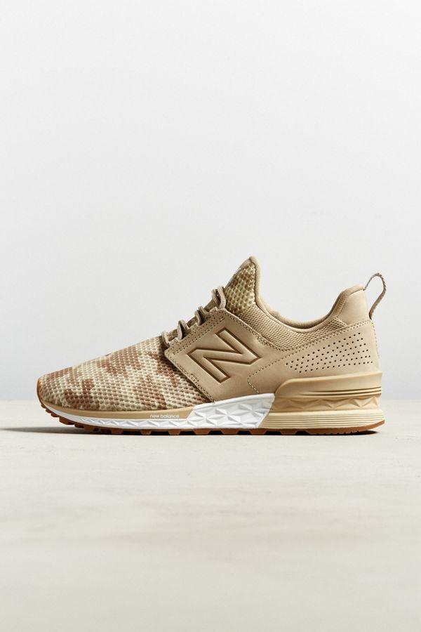New Balance 574 Sport Decon Camo Sneaker
