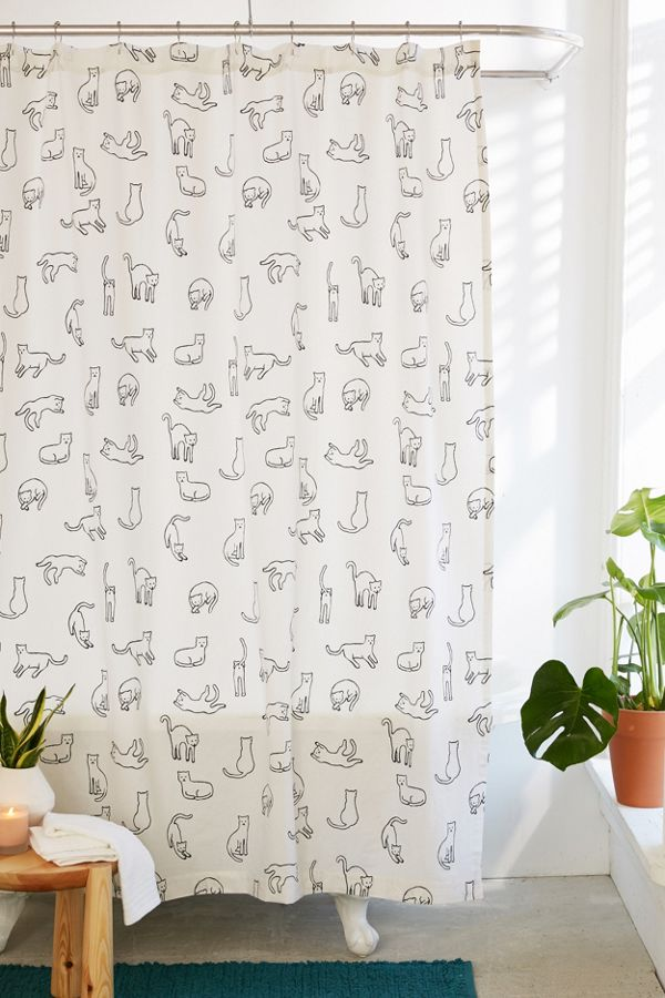 Slide View 1 Cats Shower Curtain
