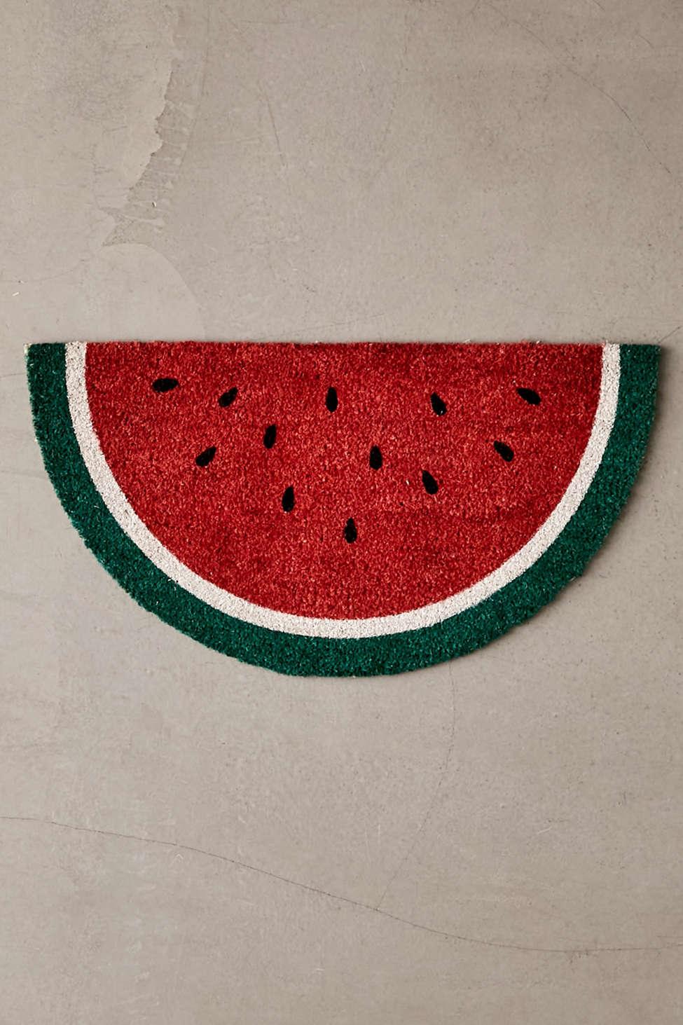 Slide View: 1: Sunnylife Watermelon Doormat