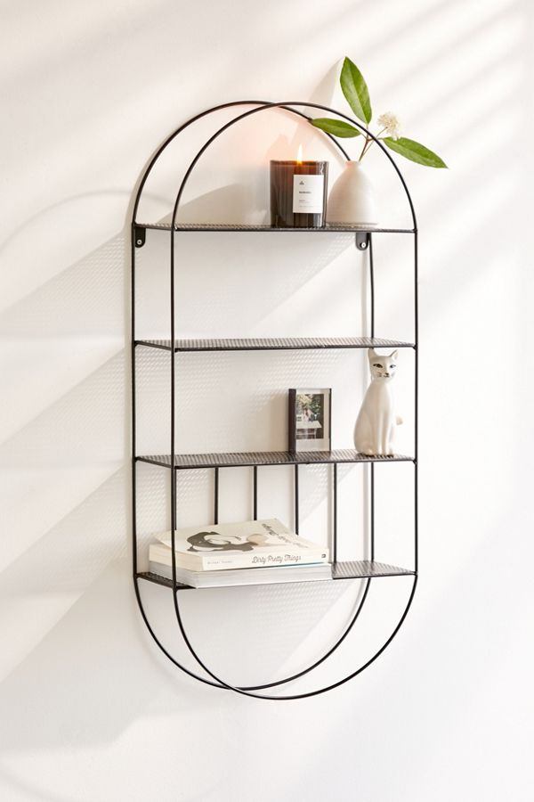 Wire Oval Wall Shelf Urban Outfitters