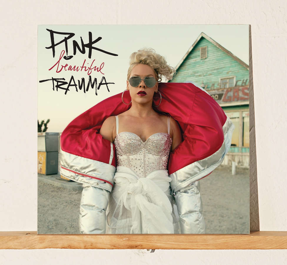 Slide View: 1: P!nk - Beautiful Trauma LP