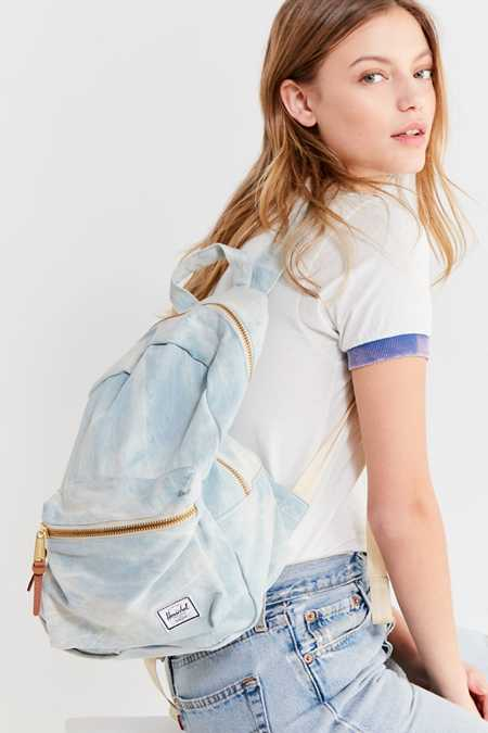 Herschel Supply Co. Grove Bleached Denim Backpack