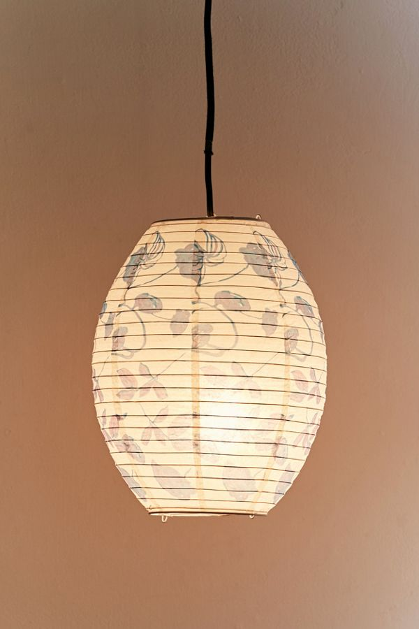 Printed paper lantern pendant urban outfitters slide view 2 printed paper lantern pendant aloadofball Image collections