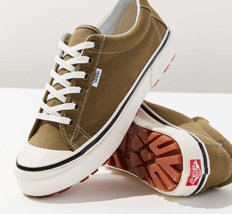 Slide View: 1: Vans Anaheim Factory Style 29 DX Olive Sneaker