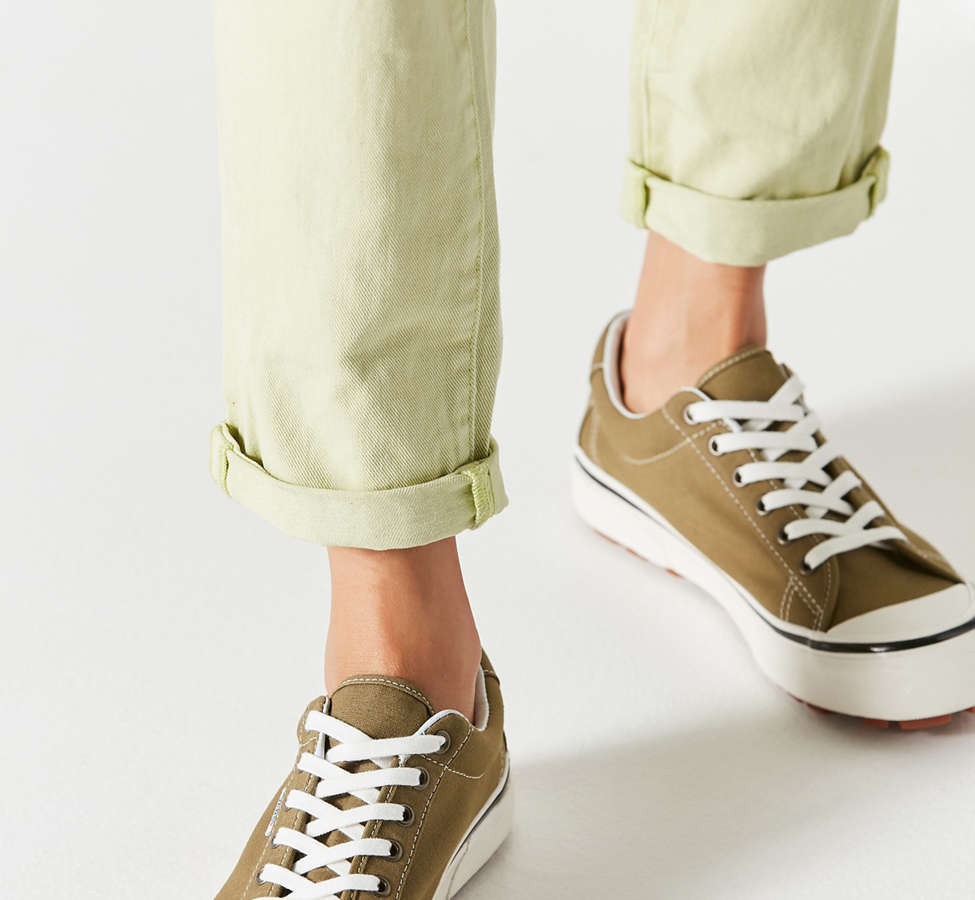 Slide View: 2: Vans Anaheim Factory Style 29 DX Olive Sneaker