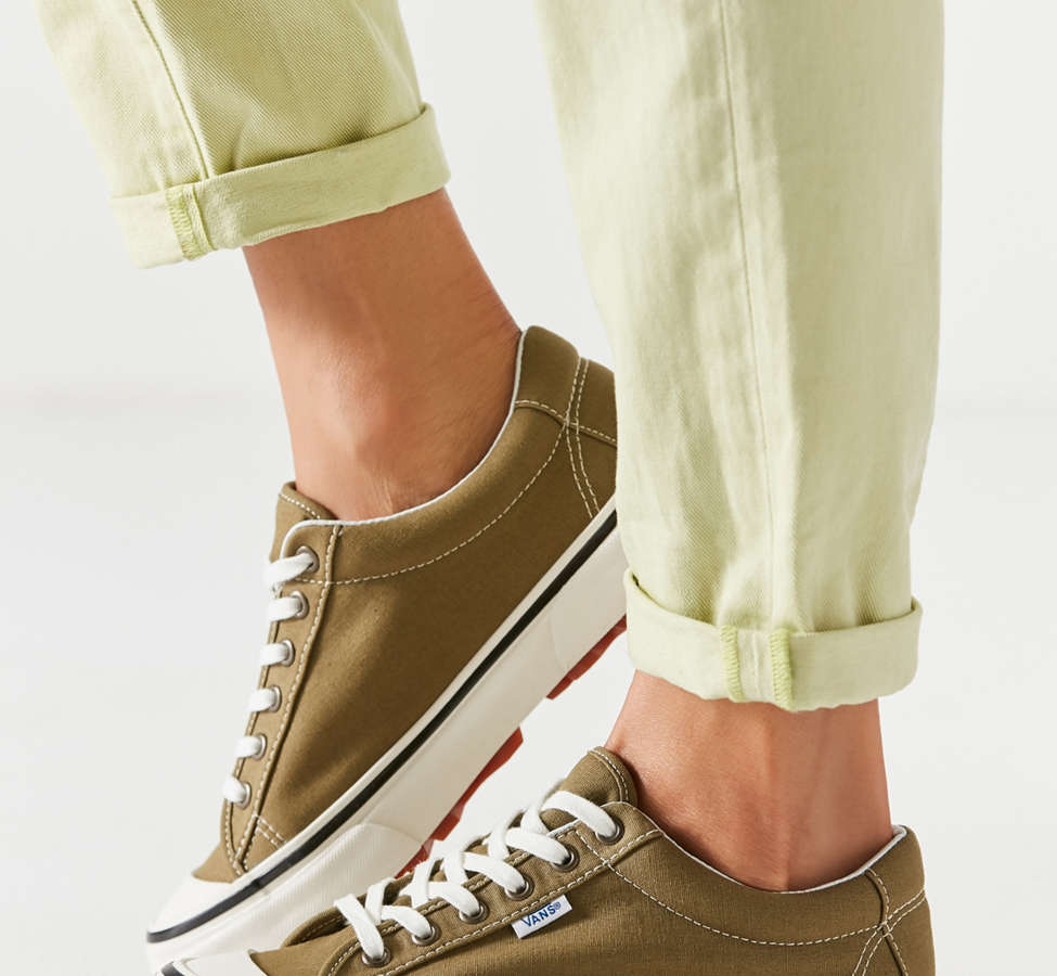 Slide View: 3: Vans Anaheim Factory Style 29 DX Olive Sneaker