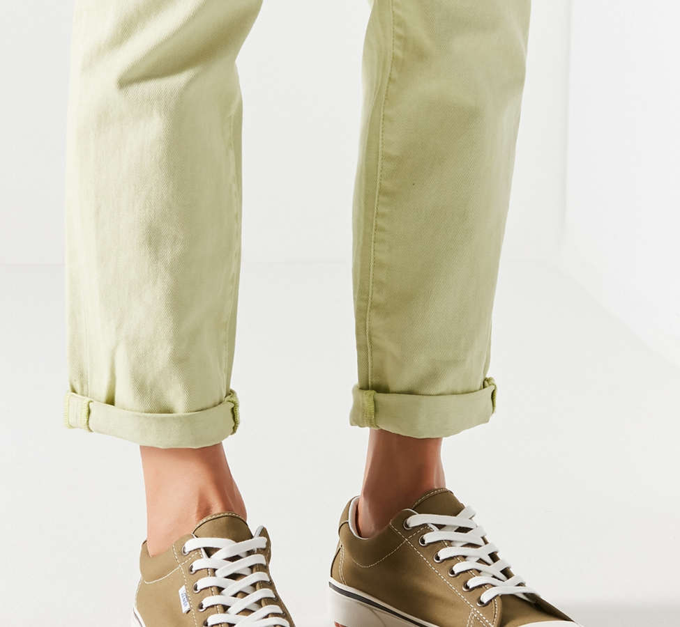 Slide View: 4: Vans Anaheim Factory Style 29 DX Olive Sneaker
