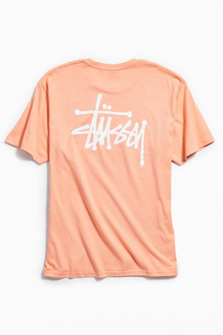 Mens tops t shirts hoodies more urban outfitters stussy logo tee gumiabroncs Image collections