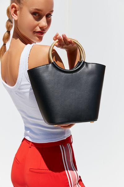 Flynn Barkley Circle Handle Tote Bag by Flynn