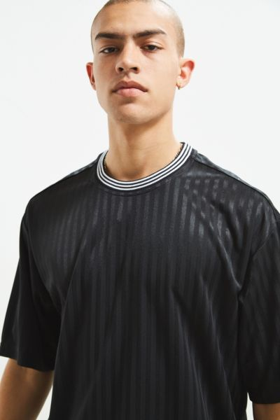 Uo Striped Jersey Tee by Urban Outfitters