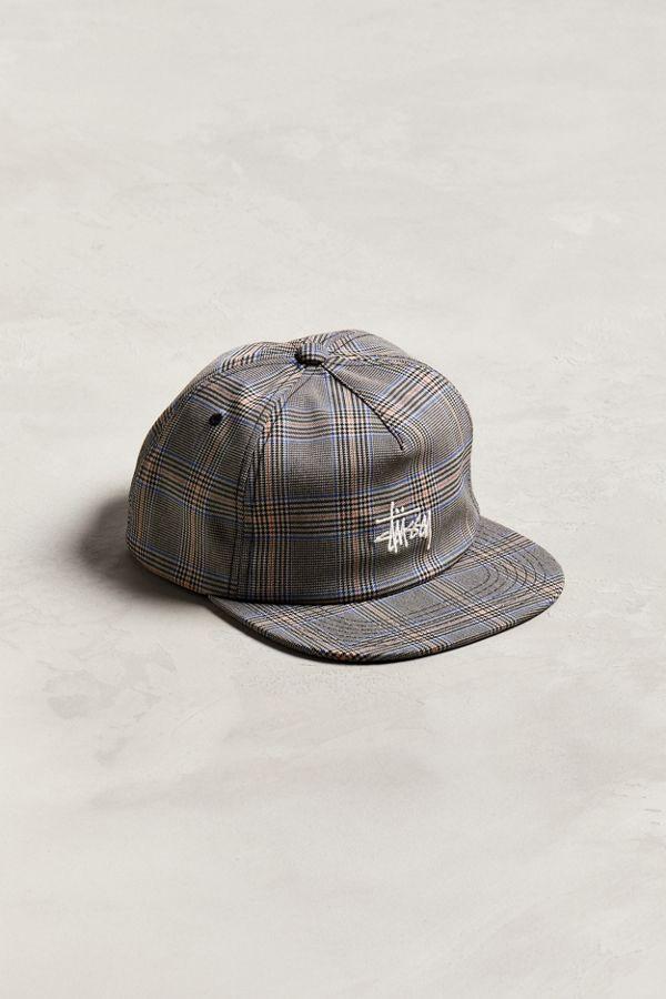 Slide View  1  Stussy Glen Plaid Snapback Hat a08a4665b9d