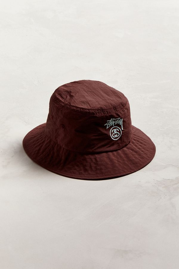 3d35ba10ee0 Stussy Crushable Stock Lock Bucket Hat