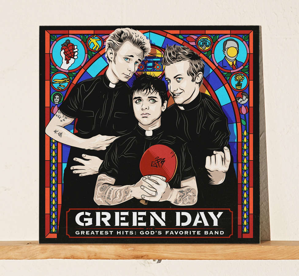 Slide View: 1: Green Day - Greatest Hits: God's Favorite Band LP