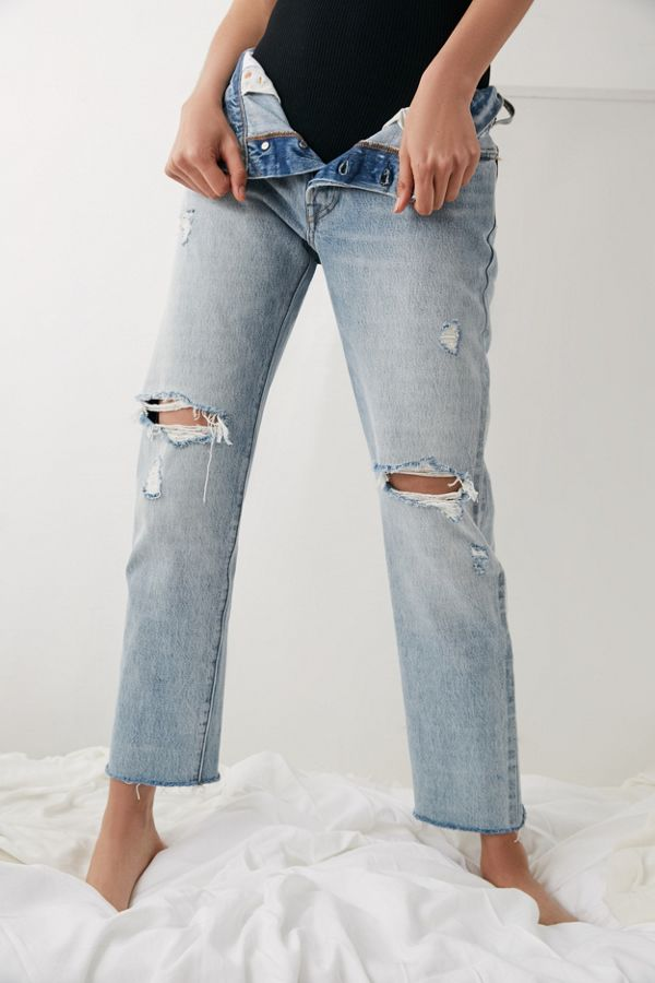 501 Crop Jean with Rips - Crazy cool Levi's UIW0F