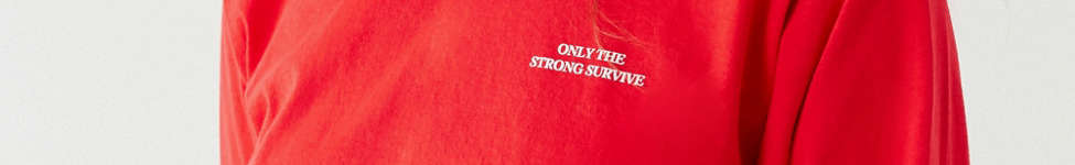 Thumbnail View 2: Only The Strong Survive Long Sleeve Tee