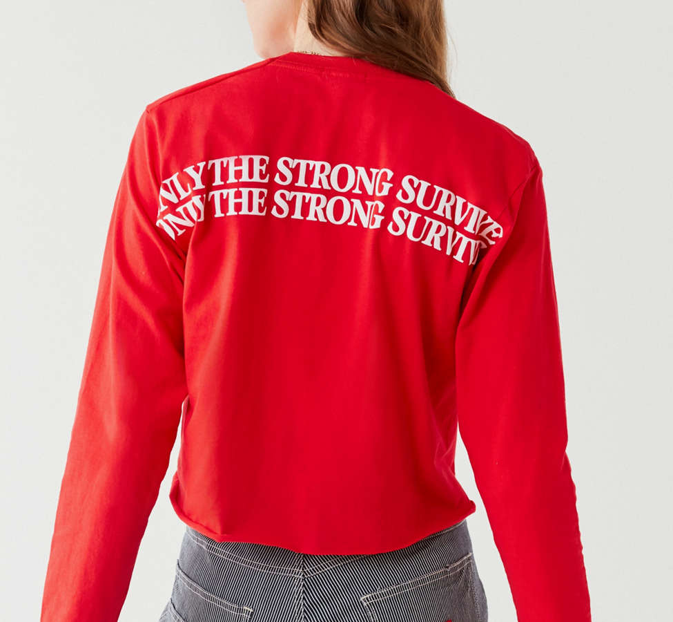 Slide View: 4: Only The Strong Survive Long Sleeve Tee