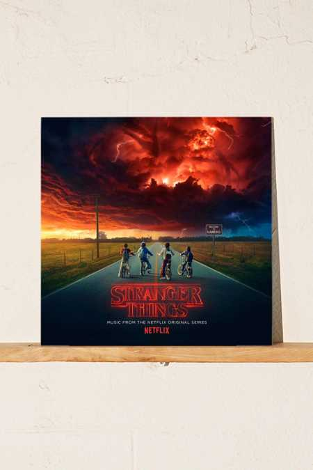 Various Artists Stranger Things: Music from the Netflix Original Series Limited 2XLP