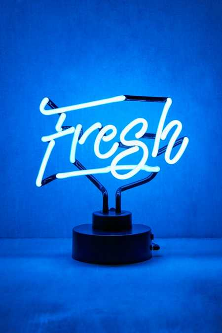 Fresh Neon Sign Table Lamp