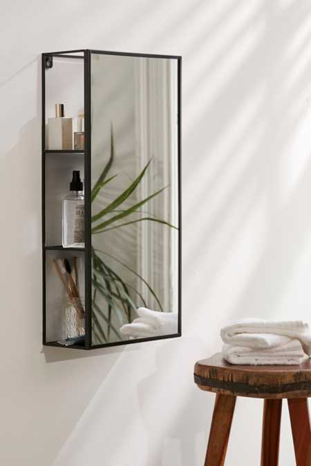 bathroom storage. Cubiko Storage Mirror Bathroom  Supplies Urban Outfitters