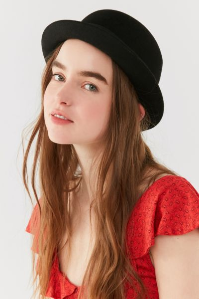 Brixton Pack Derby Hat - Black XS at Urban Outfitters