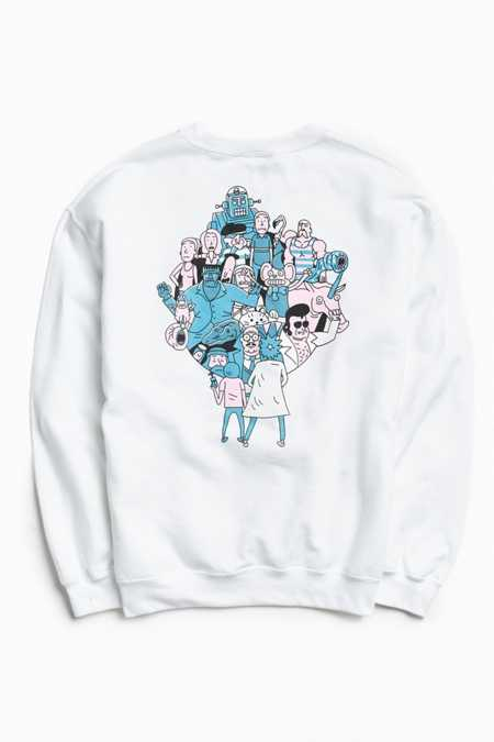 Rick & Morty Crew Neck Sweatshirt
