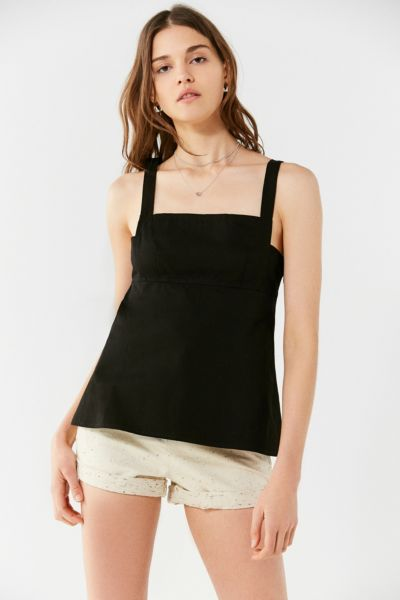 39b721df8d3 URBAN OUTFITTERS. UO Structured Poplin Cami