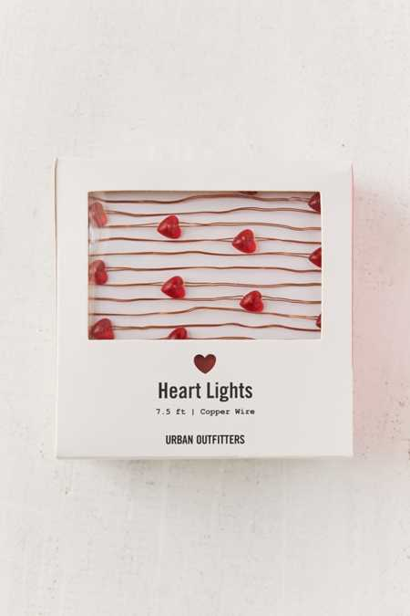 Heart Battery Powered String Lights